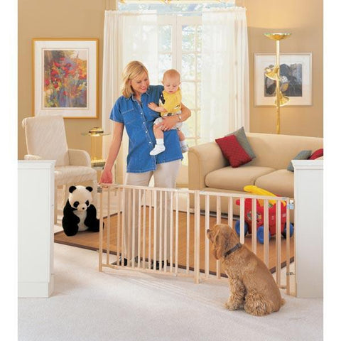 "North States Extra-Wide Swing Gate Fits Openings 57"" - 103"" NS4649 - PetGateCentral.com"