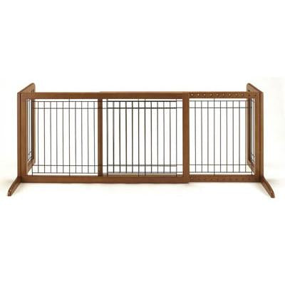 Richell Freestanding Pet Gate Large in Autumn Matte - PetGateCentral.com