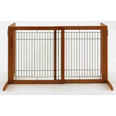 Richell Freestanding Pet Gate HS in Autumn Matte - PetGateCentral.com