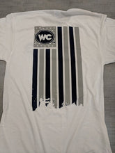 Premium Blend WC Flag Short Sleeve Short Sleeve Shirt - White