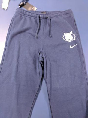 Youth Sweatpants - Nike Wolf Head - Navy