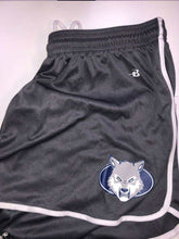 Women's Athletic Short - Wolf Head - Gray