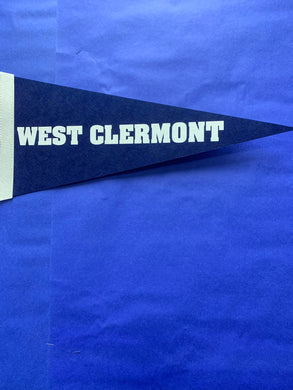 Pennant - West Clermont - Navy