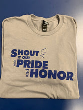 Short Sleeve - Pride and Honor - Gray