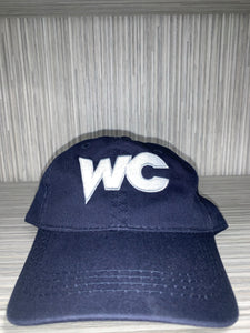 Baseball Hat - WC - Navy w/ White/Gray