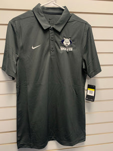 Polo - Nike Dri-Fit - Gray