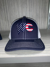 Baseball Hat - WC Flag - Navy/White