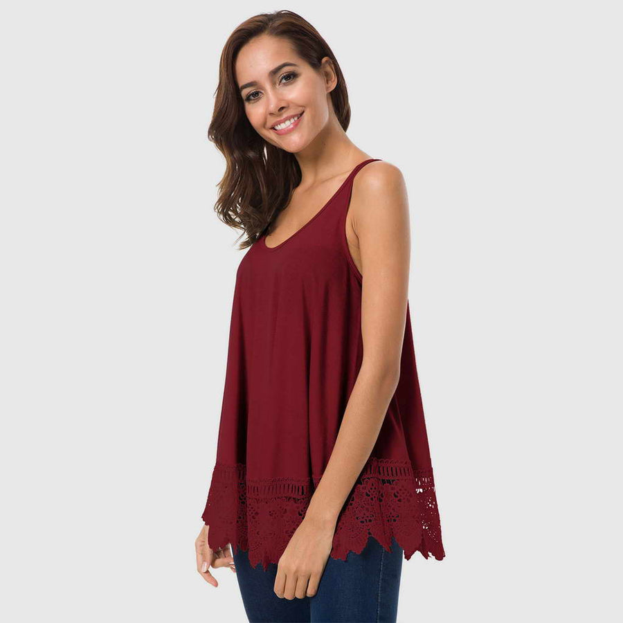 Blusa Basica Bordados En Top