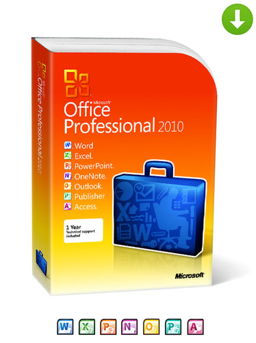 Microsoft Office 2010 Professional Plus on DVD