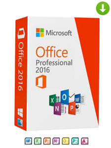 Microsoft Office 2016 Professional Plus Software on DVD