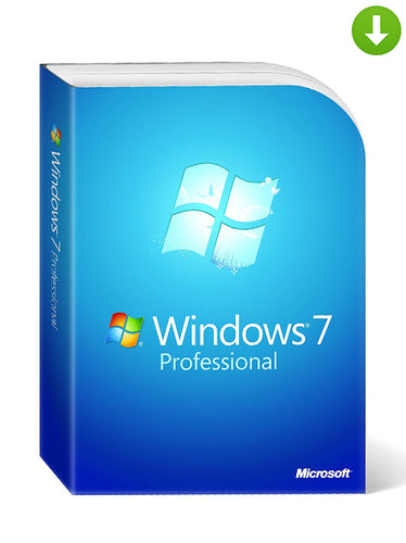 Windows Professional 7 DVD