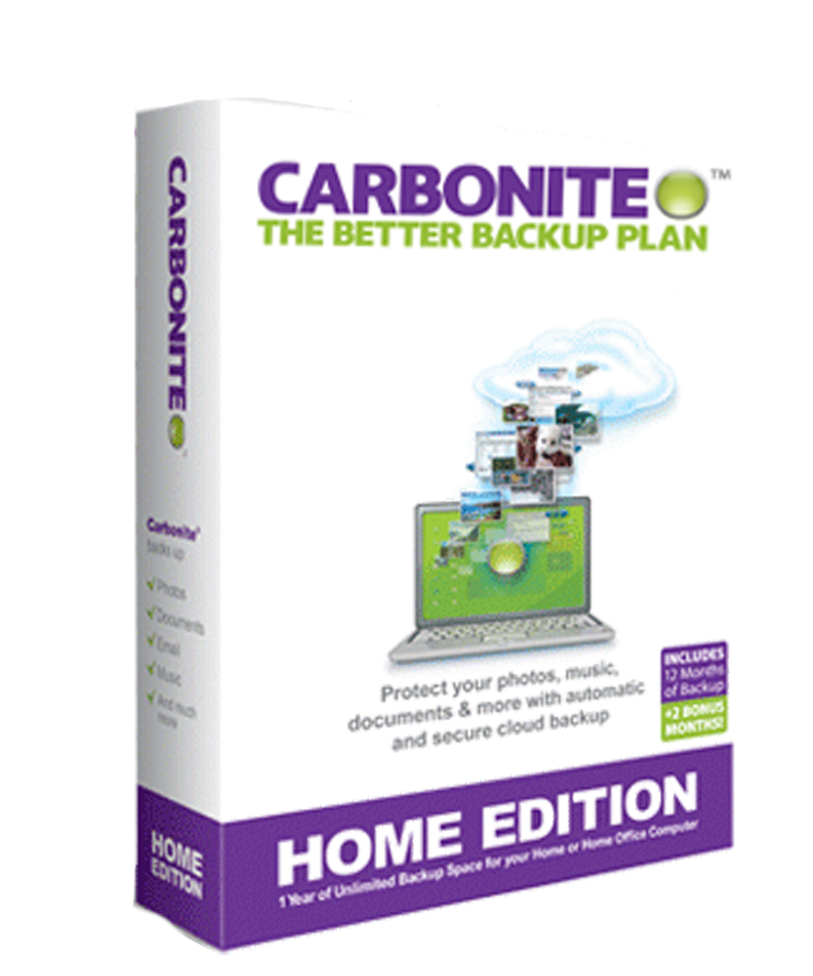 1-Year Carbonite Cloud Backup License