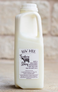 Raw Cow's Milk