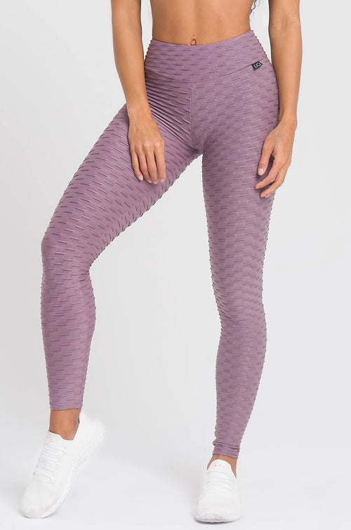 Mauve Textured Legging
