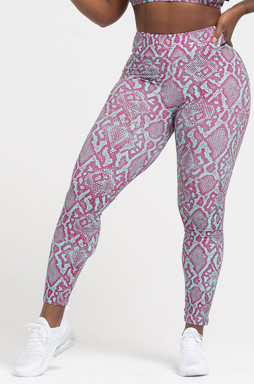 Viper High Waist Scrunch Leggings