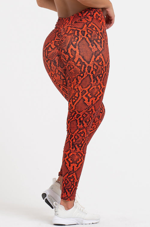Venom High Waist Scrunch Leggings