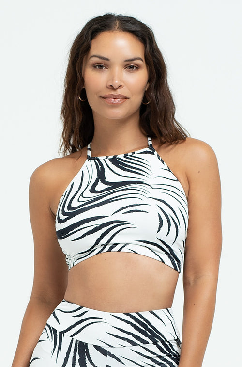 Untamed Criss Cross Crop Top