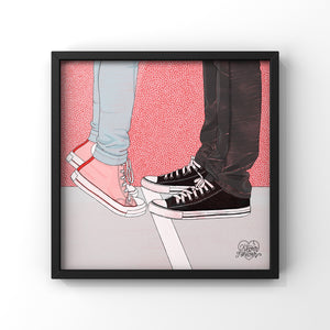 Date Night Goodnight - Art Print by Never Forever