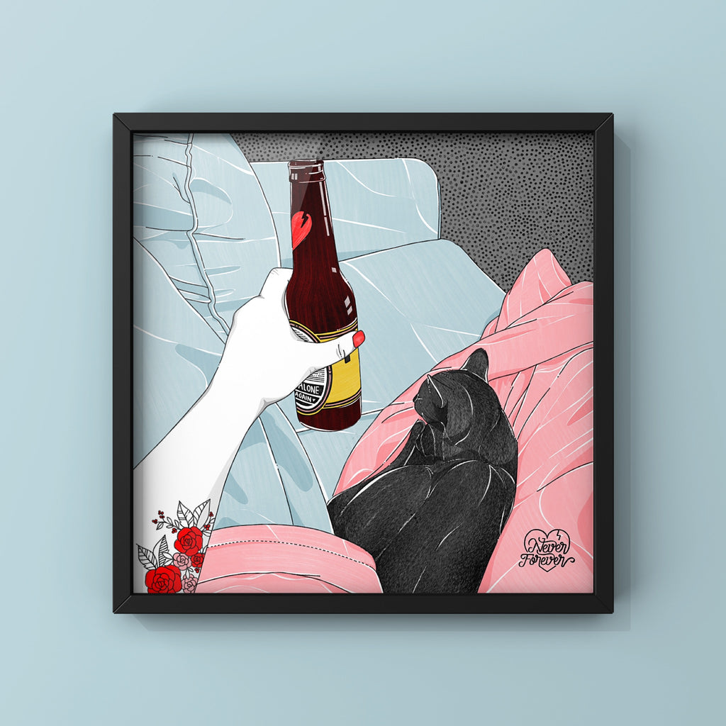 Friday Night - Art Print by Never Forever