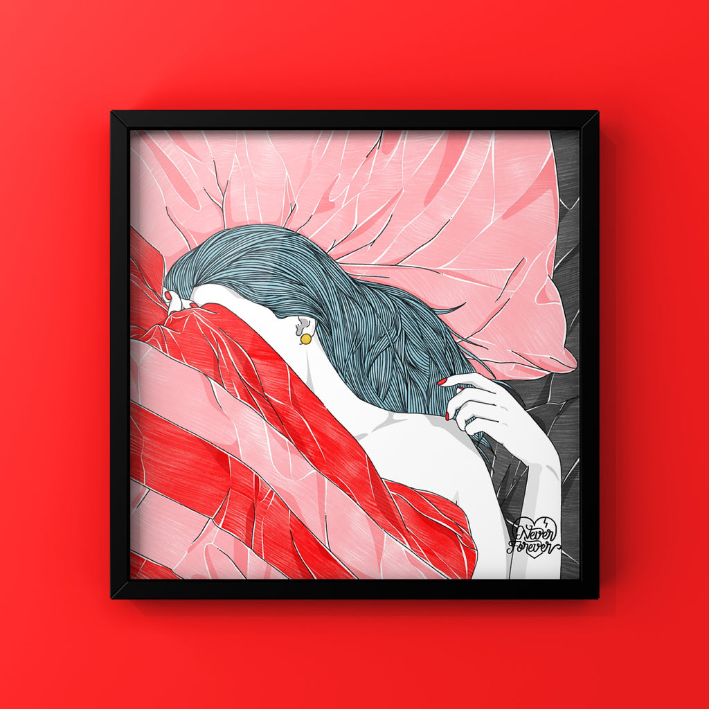 Real Life Hide and Seek - Art Print by Never Forever