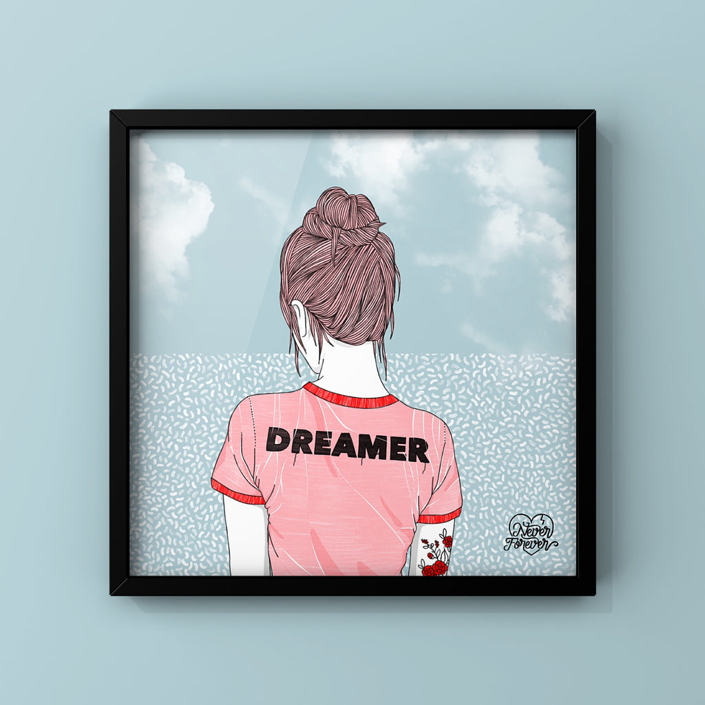 Dreamer - Art Print by Never Forever