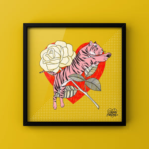 Brave and Beautiful - Art Print by Never Forever