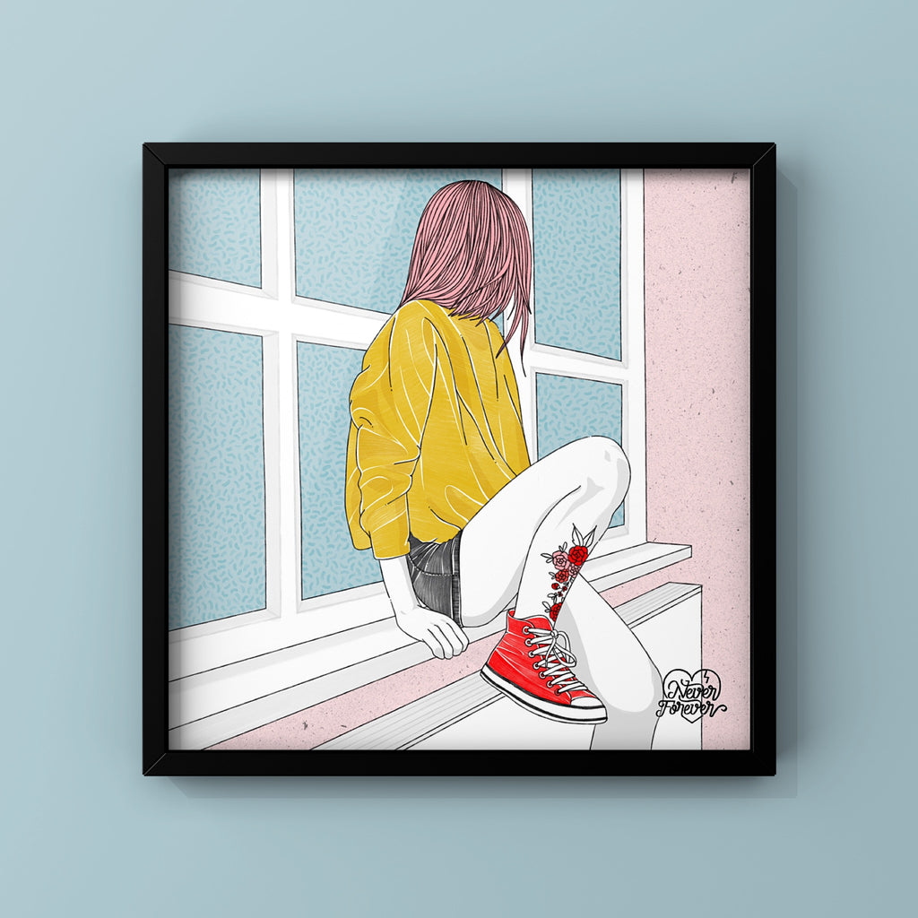 Always Waiting - Art Print by Never Forever