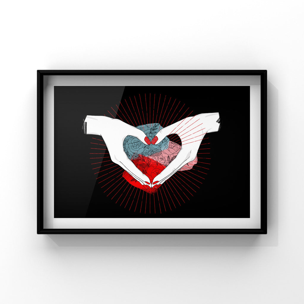 Love - Poster Print by Never Forever