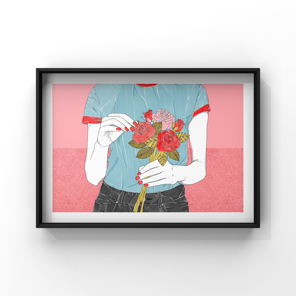 Delicate - Poster Print by Never Forever