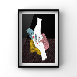 Traces - Poster Print by Never Forever
