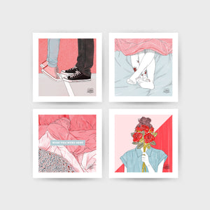 Never Forever Postcard Set