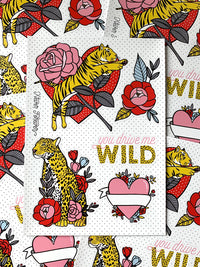 You Drive Me Wild - A5 Sticker Sheet