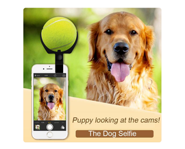 Pets Selfie Clip with ball