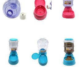 Automatic Feeding And Drinking Pet Bowl