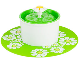 Electric Flower Pet Fountain
