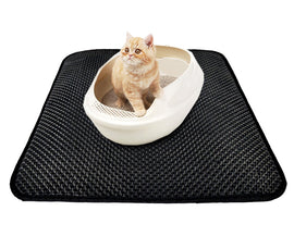 Two Layered Cat Litter Mat With Free Shovel