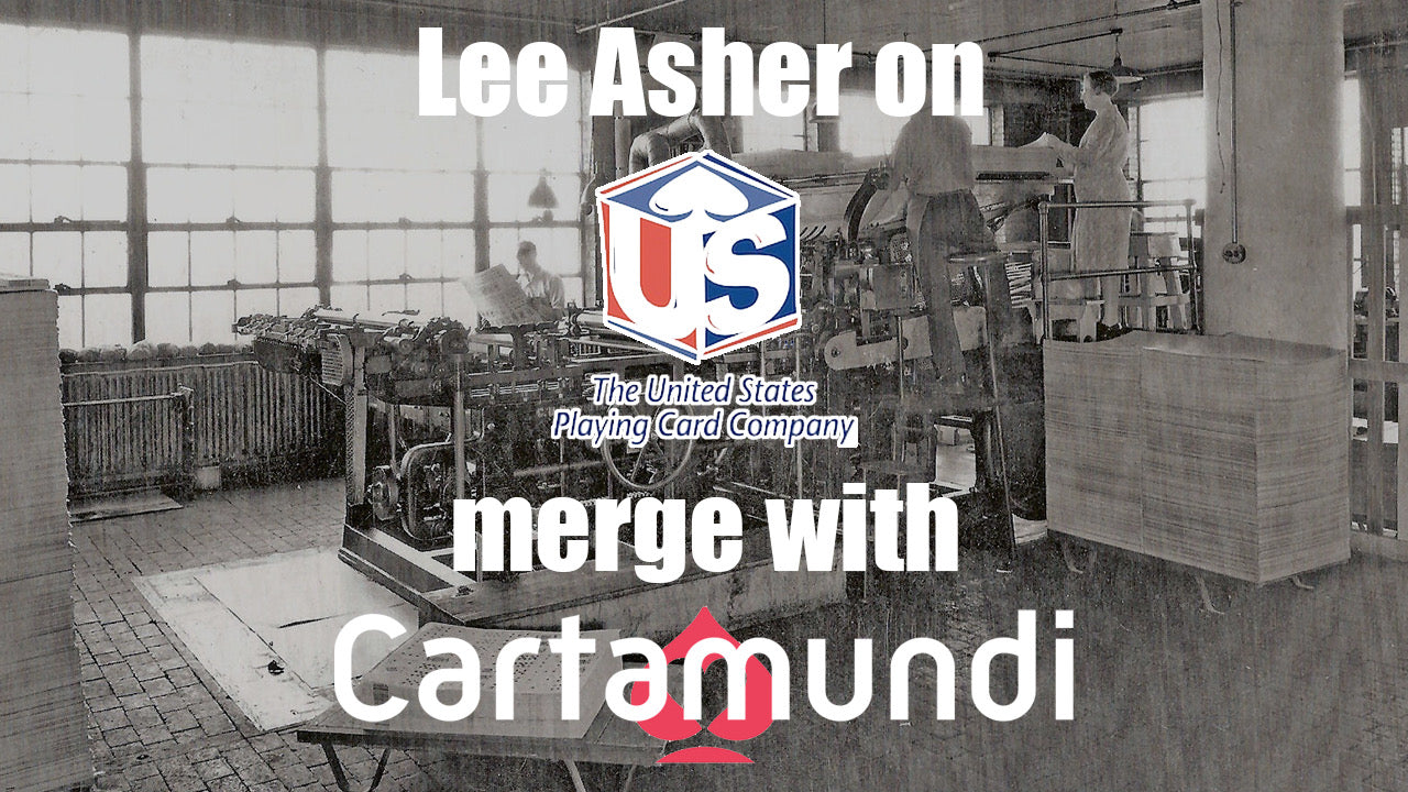 Lee Asher on the Merge of Cartamundi and USPCC