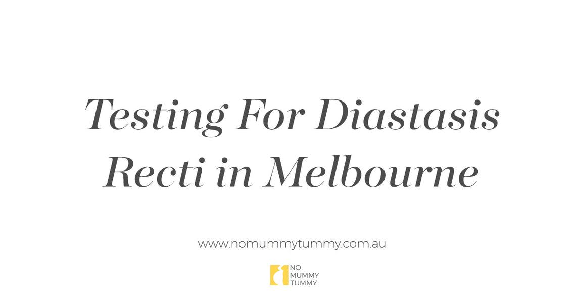 Testing For Diastasis Recti Melbourne