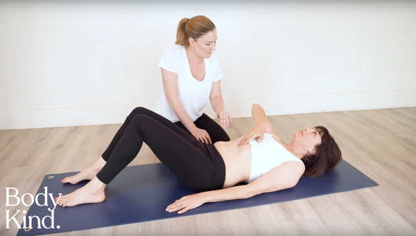 Testing yourself for a diastasis recti