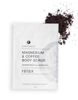 Everybodi: Magnesium & Coffee Body Stretch Mark Scrub