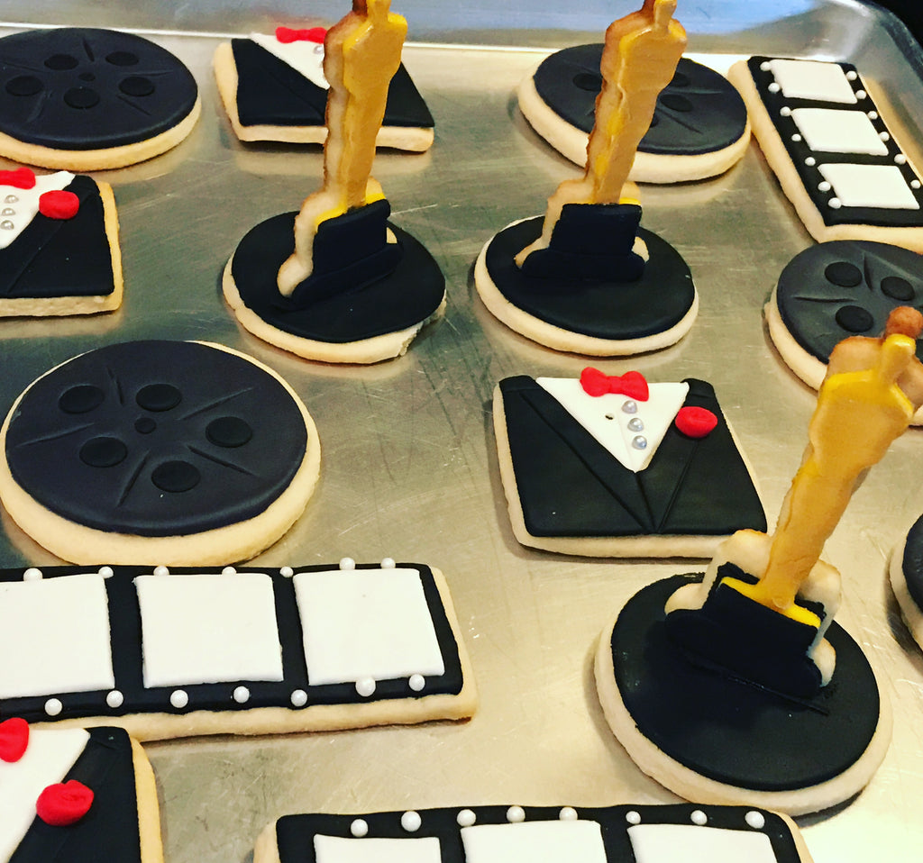 "Event Cookies ... ""The Oscars Theme"" (1 dozen)"