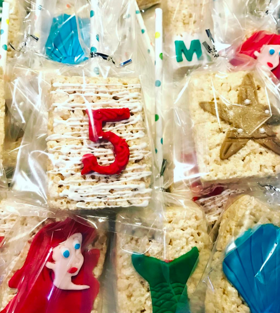Custom Decorated Rice Krispie Treats  (1 dozen)