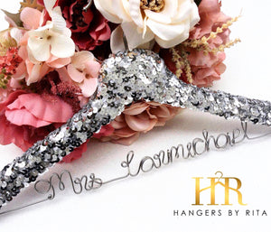 Sequin Bridal Hanger