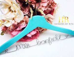 Something Blue Bridal Hanger