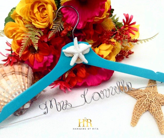 Starfish Bridal Hanger