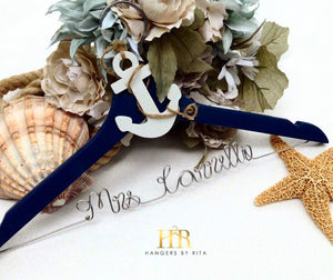 "Nautical ""Anchor"" Bridal Hanger"