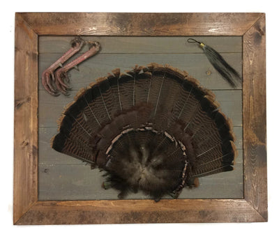 Rustic Turkey Plaque