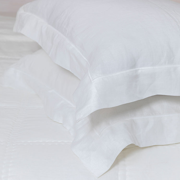 Grace Linen Embroidered Pillowcases