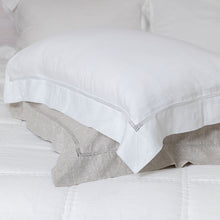 Sublime Linen Hemstitch Pillowcases
