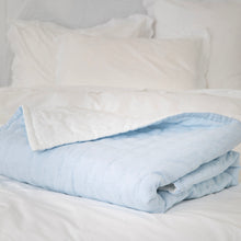 Tempt Linen Throw - Seamist Blue